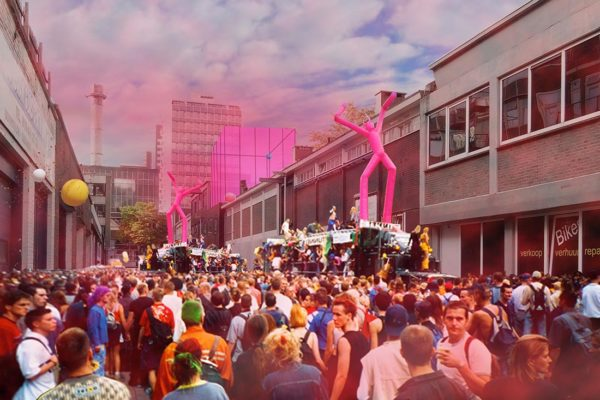 Design presented for Pink Rhino art centre