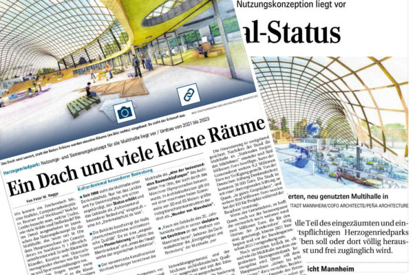 Multihalle Mannheim published in the local press