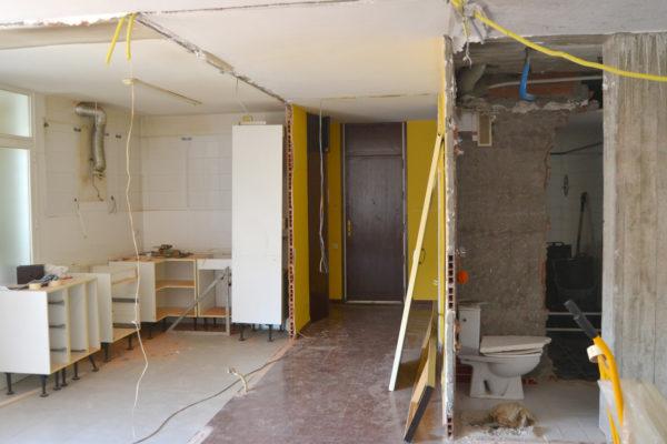 Building works start for M&I apartment renovation