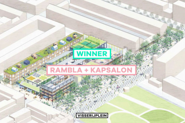 COFO wins EUROPAN15 with project 'Rambla + Kapsalon' for Rotterdam
