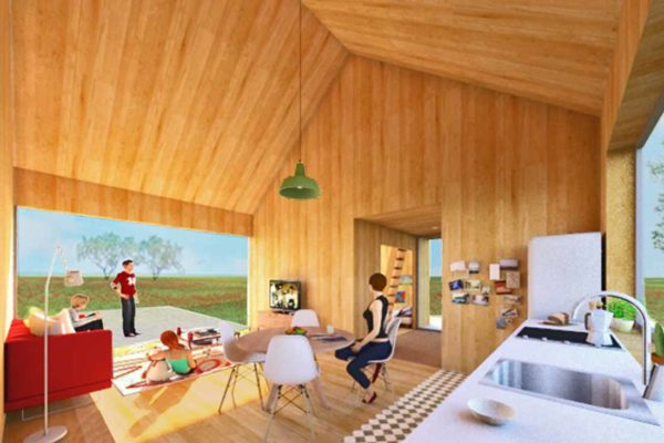 First 'Happy House' prototype developed