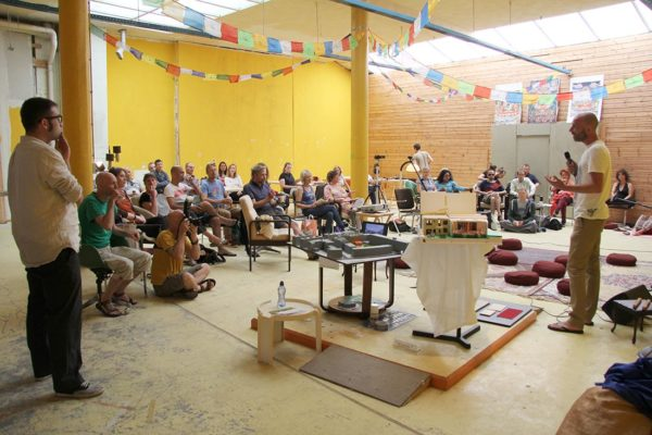 First participatory workshop to design and build a Buddhist centre